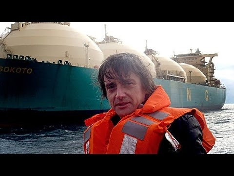 Embedded thumbnail for Richard Hammond on LNG Super Tanker Engineering Connections - BBC Documentary