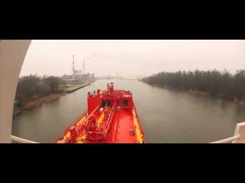 Embedded thumbnail for Szczecin Arrival / MT Saargas