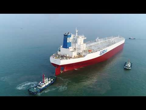 Embedded thumbnail for TI Europe Drydocking at Yiu Lian Dock Yards September 2017