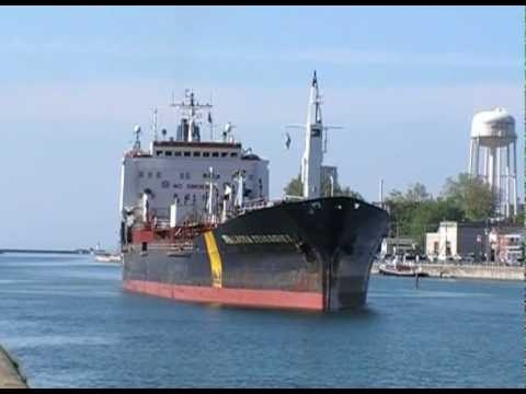 Embedded thumbnail for THALASSA DESGAGNES in the Welland Canal