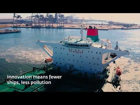 Embedded thumbnail for Andeavor TAQAH Oil Tanker Arrival at Port of Long Beach