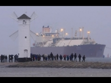 """Embedded thumbnail for First LNG Tanker """"AL NUAMAN"""" arrives at Świnoujście"""