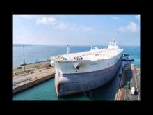 Embedded thumbnail for Le Ti Europe en réparation à Brest