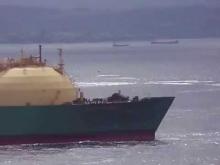 Embedded thumbnail for Salida del LNG BAYELSA y los Remolcadores HOCHO E IBAIZABAL, AGOSTO 2012