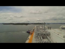 Embedded thumbnail for Panama Canal in 5 Minutes | Full Transit LNG Timelapse