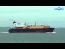 Embedded thumbnail for MERCHANT NAVY METHANE BECKI ANNE LNG TANKER SHIP