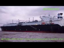 """Embedded thumbnail for LGN Tanker """"METHANE LYDON VOLNEY"""" #ZonaComún #RioDeLaPlata #Argentina/Pilot Boat """"COMETA"""" 14.07.2017"""