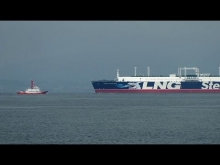 "Embedded thumbnail for Stena Bulk ""STENA BLUE SKY"" 名港東航路"