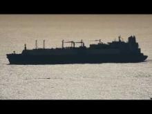 Embedded thumbnail for LNG Tanker AL BAHIYA 伊良湖水道