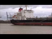 Embedded thumbnail for Thames Shipping by Richie Sloan, The AMI Products Tanker