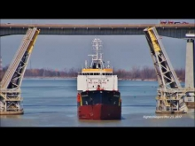 Embedded thumbnail for Ship DARA DESGAGNES raised at Lock 3, Welland Canal