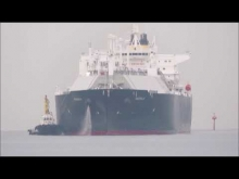 Embedded thumbnail for MAGDALA 入港 LNGタンカ (Liquefied Natural Gas Tanker )  by 後藤憲
