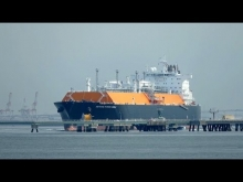 "Embedded thumbnail for LNG Tanker ""METHANE PATRICIA CAMILA"" 南浜埠頭離桟"