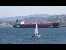 Embedded thumbnail for HISTRIA AGATA Chemical Tanker. Arrival and docking at the terminal. La Coruna (Spain) - 28 July 2016
