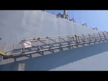 Embedded thumbnail for MT ISUZUGAWA - Very Large Crude Carrier (VLCC) Oil Tanker Boarding