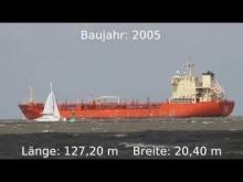 Embedded thumbnail for ACAVUS auf der Elbe höhe Otterndorf