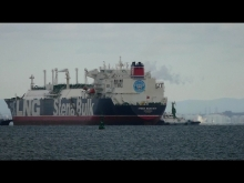"Embedded thumbnail for LNG Tanker ""STENA BLUE SKY"" 四日市"