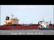 "Embedded thumbnail for ""ADVANCE II"" auf der Elbe höhe Otterndorf"