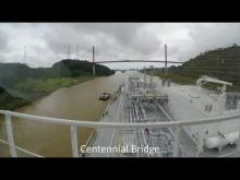 Embedded thumbnail for Methane Julia Louise at Panama Canal November 2016
