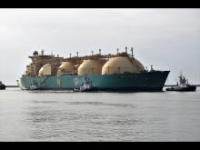 "Embedded thumbnail for Buque ""LNG AKWA IBOM"" entrando por la Ría de Huelva (14/10/2017)"