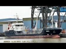 Embedded thumbnail for ANNIKA DD7323 IMO 9628489 Emden Germany tanker coaster seaship Seeschiff KüMo