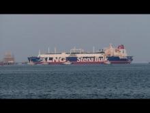 "Embedded thumbnail for LNG Tanker ""STENA CLEAR SKY"" Yokkaichi"