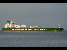 Embedded thumbnail for Erster Aframax-Tanker der mit Flüssiggas angetrieben wird