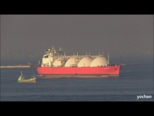 Embedded thumbnail for LNG Tanker: FUJI LNG Underway