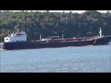 Embedded thumbnail for Thalassa Desgagnes Upbound on the St-Lawrence River in front of Ste-Foy, Quebec, Canada.