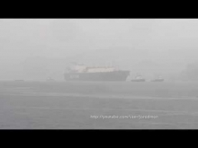 Embedded thumbnail for LNG Tanker SCF MITRE arrives in Ferrol