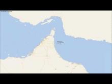 Embedded thumbnail for Q-Flex LNG carrier Al Khattiya hit by crude carrier Jag Laadki off Fujairah