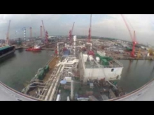 Embedded thumbnail for Puteri Zamrud out from Dry Dock to Wet Dock
