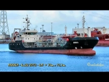 Embedded thumbnail for ANNIKA DD7323 IMO 9628489 Germany tanker bunkering car carrier