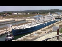 Embedded thumbnail for LPG Tanker SINNDAR at New Expanded Agua Clara Locks - Panama Canal (April 22, 2017)